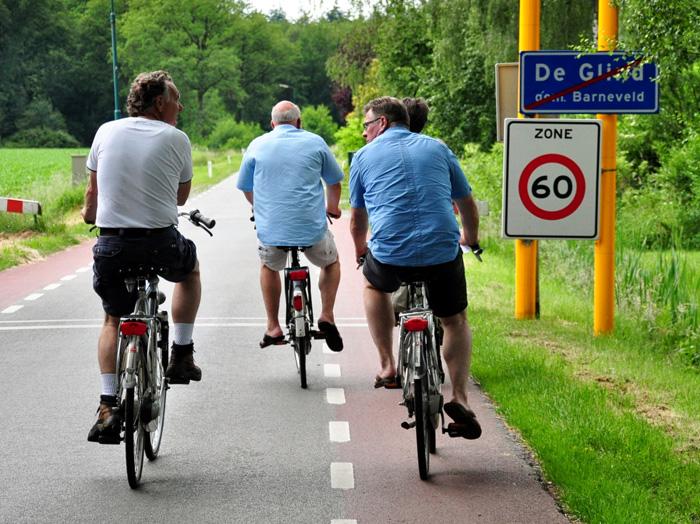Terbroekse fietstocht