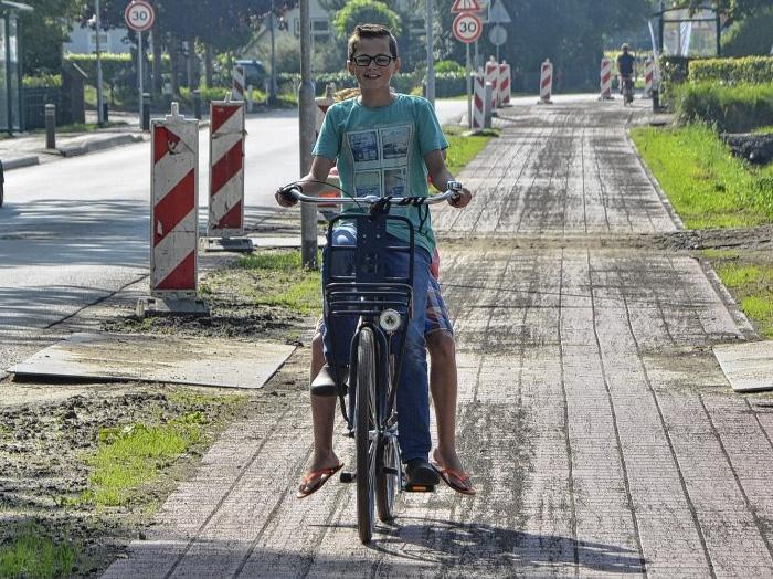 Maandag 14 maart feestelijke opening fietspad